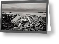 Hartland Beach Triptych Greeting Card