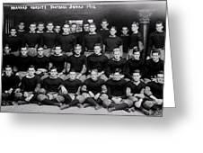 Harvard Football 1912 Greeting Card