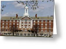 Harvard University Moors Hall Greeting Card