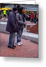 Harvard Watchers Greeting Card