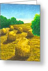 Harvest Gold Greeting Card