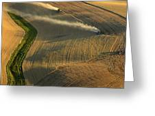 Harvest Time Greeting Card by Latah Trail Foundation