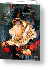Harvest Witch Greeting Card
