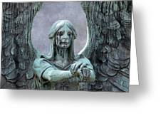Haserot Weeping Angel Greeting Card