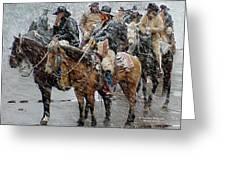 Hashknife Pony Express Greeting Card