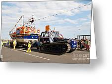 Hastings Lifeboat Greeting Card