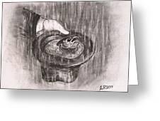 Hatful Of Rain Greeting Card