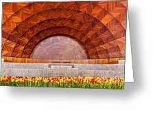 Hatch Memorial Shell Greeting Card by Susan Cole Kelly