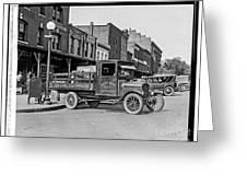 Hatcher Boaze Truck. Greeting Card