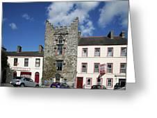 Hatch's Castle Ardee Ireland Greeting Card