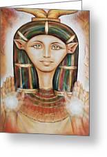 Hathor Rendition Greeting Card
