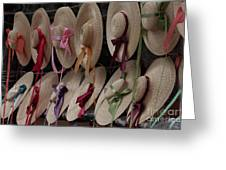 Hats In Colonial Williamsburg Greeting Card