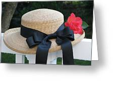Hats Off To Summer Greeting Card