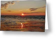 Hatteras Island Sunrise 2 7/30 Greeting Card