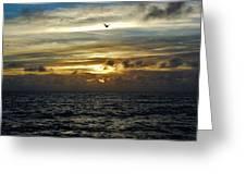 Hatteras Island Sunrise 2 9/10 Greeting Card