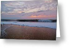 Hatteras Island Sunrise 4 10/18 Greeting Card