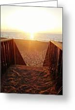 Hatteras Island Sunrise 6 8/23 Greeting Card