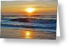 Hatteras Island Sunrise 9 8/28 Greeting Card