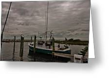 Hatteras Stormy Day 6/5 Greeting Card
