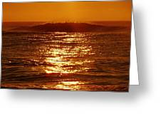 Hatteras Sunrise 16 8/6 Greeting Card