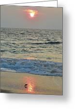 Hatteras Sunrise 5 8/8 Greeting Card