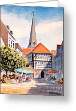 Hattingen Germany Greeting Card