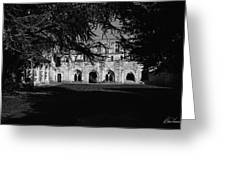 Haunted Abbey Greeting Card