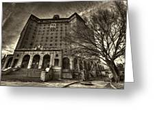 Haunted Baker Hotel Greeting Card