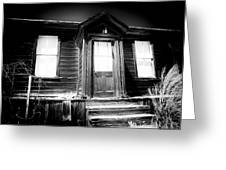 Haunted Greeting Card by Cat Connor