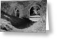 Haunted Mortemer Abbey Greeting Card
