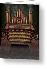 Haunted Pipe Organ Greeting Card