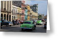 Havana 22 Greeting Card