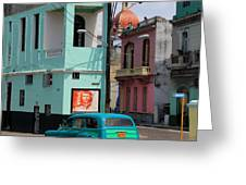Havana 36 Greeting Card