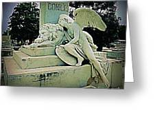 Havana Cemetary Greeting Card