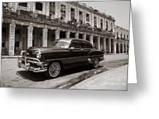 Havana Chevy Greeting Card
