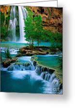Havasu Canyon Greeting Card