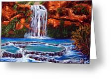 Havasu Falls Cheryln1955@gmail.com Greeting Card