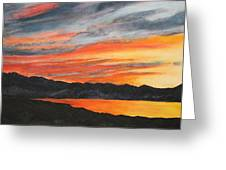 Havasu Sunset Greeting Card