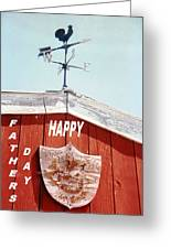 Country Fathers Day  Greeting Card