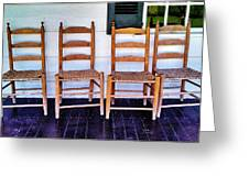 Have A Seat. Greeting Card