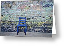 Have A Seat Greeting Card by Kelly Kitchens