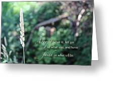 Have Faith Greeting Card