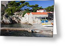 Haven In Dubrovnik Greeting Card