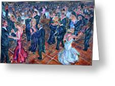 Having A Ball - Dancers Greeting Card