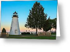 Concord Point Light ... Havre De Grace Md Greeting Card