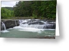 Haw Creek Falls Greeting Card