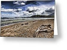 Hawaii Big Island Beaches V2 Greeting Card