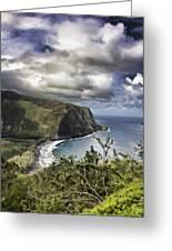 Hawaii Coastline Kauai  Greeting Card