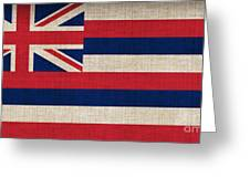Hawaii State Flag  Greeting Card