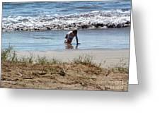 Beach Boy Greeting Card